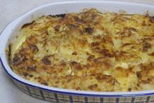 Σουφλέ πατάτας με σουτζούκι - Συνταγές Μαγειρικής - Chefoulis