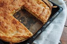 Πατατόπιτα κουρού με λουκάνικα - Συνταγές Μαγειρικής - Chefoulis