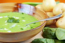 Πουρές σπανάκι - Συνταγές Μαγειρικής - Chefoulis
