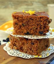 Melachrino (traditional grape molasses cake)