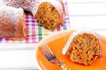 Κέικ νηστίσιμο με καρότο και μήλο