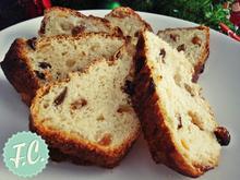 Pandolce Genovese, Χριστουγεννιάτικο Ιταλικό Ψωμί - Funky Cook