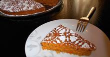 Νηστίσμο Κέικ με Κολοκύθα Αφρός Vegan Moist Pumpkin Cake