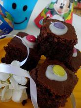 Σοκολατένια brownies με μπανάνα