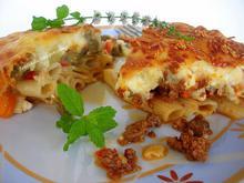 Διπλό παστίτσιο...με λαχανικά ή με κιμά