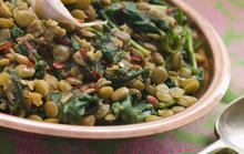 Φακές με σπανάκι και κύμινο - Συνταγές Μαγειρικής - Chefoulis