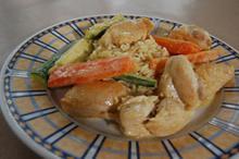 Συνταγή: Φιλέτο κοτόπουλο με μαστίχα. ούζο, κρέμα γάλακτος, βούτυρο
