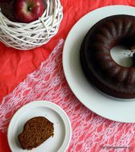 Amazing vegan apple cake