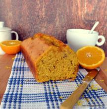 Amazing vegan syruped orange cake