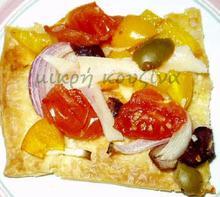 Πίτσα με φύλλο