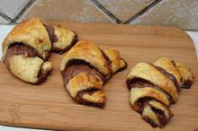 Κρουασάν σοκολάτα - κάστανο - Συνταγές Μαγειρικής - Chefoulis