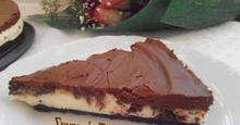 Cheesecake με σοκολάτα