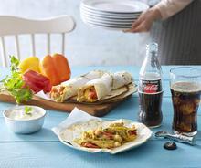Φανταστικό σουβλάκι τυλιχτό και αραβική πίτα