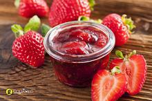 Εύκολη μαρμελάδα φράουλα