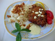 Φιλέτο κοτόπουλου με κρούστα σουσαμιού και σάλτσα φέτας... τηγανιτό στη γάστρα!