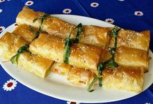 Δεματάκια με χαλούμι και μπέικον - Συνταγές Μαγειρικής - Chefoulis