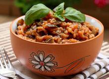Μελιτζάνες με ρύζι - Συνταγές Μαγειρικής - Chefoulis