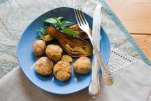 Κεφτεδάκια μελιτζάνας - Συνταγές Μαγειρικής - Chefoulis