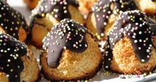 Γλυκάκια  με ινδοκάρυδο & σοκολάτα πολύ εύκολο!