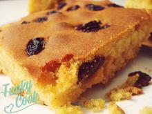 Μπομπότα Γλυκιά με Σταφίδες (Γλυκό Καλαμποκόψωμο) - Funky Cook