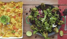 """Μεξικάνικη σαλάτα, ψημένο αβοκάντο και φασόλια """"Ποπ κορν"""" - Συνταγές - Νηστικό Αρκούδι - Από τον Αγρό στο Πιρούνι"""