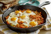 Αυγά φούρνου με γλυκοπατάτες - Συνταγές Μαγειρικής - Chefoulis