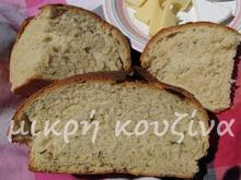 Ψωμί με μπύρα και φρέσκο δεντρολίβανο