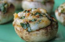 Μανιτάρια γεμιστά με παστουρμά - Συνταγές Μαγειρικής - Chefoulis
