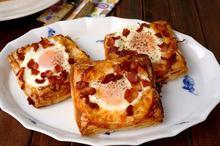 Αυγά μάτια σε σφολιάτα - Συνταγές Μαγειρικής - Chefoulis