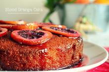 Κέικ με Σαγκουίνια και Καρδάμωμο
