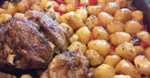 Αρνάκι με πατάτες στον φούρνο !!