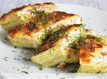 Κολοκυθάκια με κεφαλογραβιέρα - Συνταγές Μαγειρικής - Chefoulis
