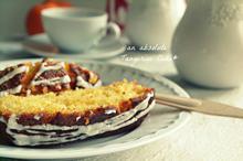 Σιροπιαστό Κέικ Μανταρίνι με Γλάσο - Funky Cook