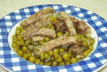 Αρακάς με αρνάκι - Συνταγές Μαγειρικής - Chefoulis