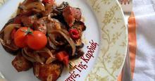 Χοιρινό με μελιτζάνες στον φούρνο