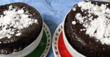 Λάβα σοκολάτας σε 5 λεπτά !!!