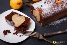 Κέικ σοκολάτα με κανέλα και αχλάδια