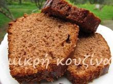 Κέικ με αλεύρι ολικής άλεσης και μέλι
