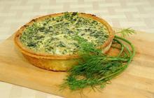 Τάρτα με σπανάκι και blue cheese - Συνταγές Μαγειρικής - Chefoulis