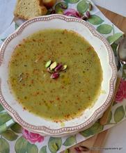 Velvety veggie soup