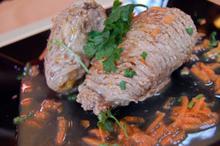 Χοιρινό σνίτσελ γεμιστό με λαχανικά - Συνταγές - Νηστικό Αρκούδι - Από τον Αγρό στο Πιρούνι