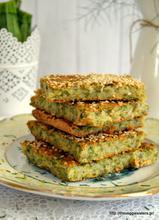 Vegan batzina (traditional greek zucchini pie)