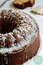 """Κέικ με Μακεδονικό Χαλβά και Μαστίχα Χίου - """"My Big Fat Greek Cake"""" for World Baking Day Event! - Funky Cook"""