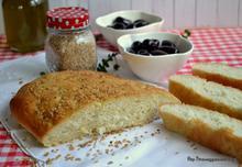 Lagana (greek lenten bread)