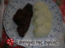 Συκώτι με σάλτσα μαυροδάφνης και μουστάρδα