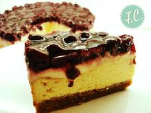 Sour Cream CheeseCake - Funky Cook