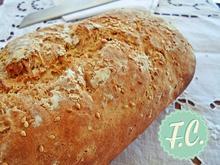 Πανεύκολο Χωριάτικο Ψωμί - Funky Cook