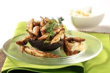Γαύρος τηγανητός με σουσάμι - Συνταγές Μαγειρικής - Chefoulis