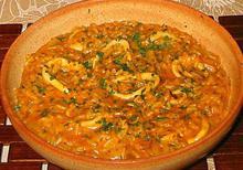Καλαμάρια με ρύζι - Συνταγές Μαγειρικής - Chefoulis