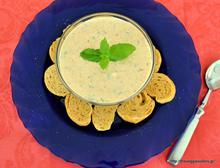 Herbed carrot yogurt dip